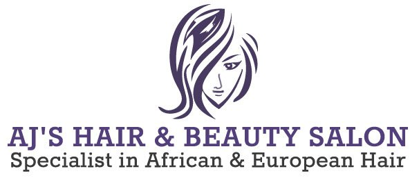 AJ's Hair & Beauty Salon logo