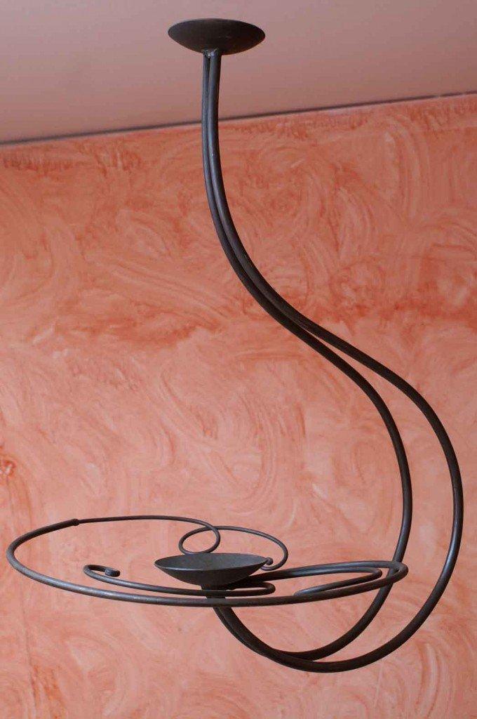 lampadario nero