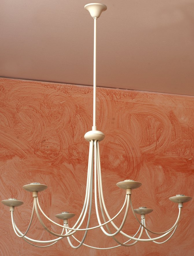 lampadario bianco