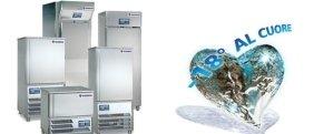 frigoriferi industriali, refrigeratori, frigoriferi in metallo