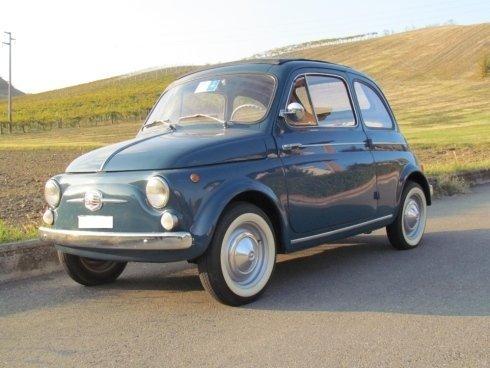 Cinquecento blu Fiat