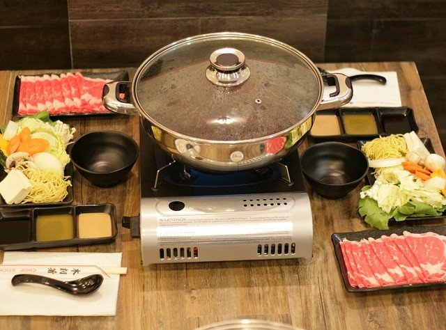 Preparation of shabu shabu