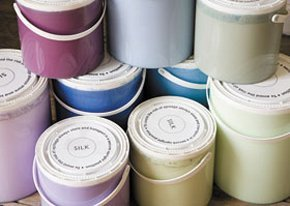 Painter - Shrewsbury, Shropshire - Salop Decor - Paint Stack
