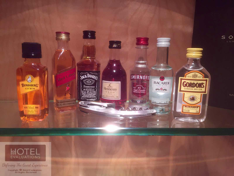 Mini Bar Spirits