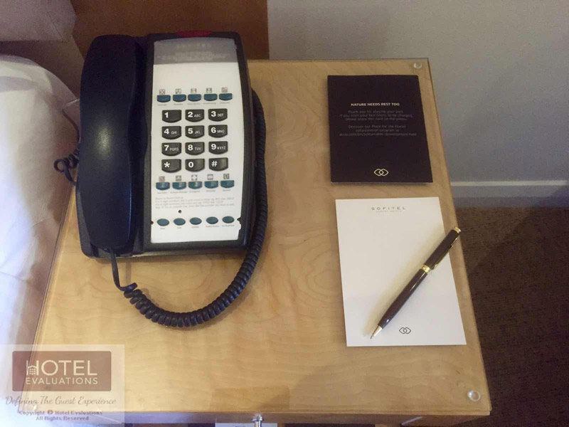 Telephone with notepad