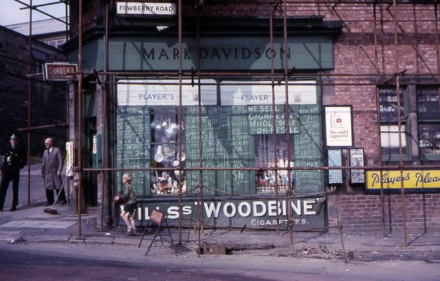 Explore Lifelong Learning 2017 Scotswood shop 1965 adult education
