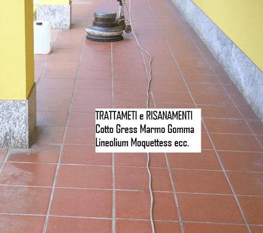 Risanamento pavimenti