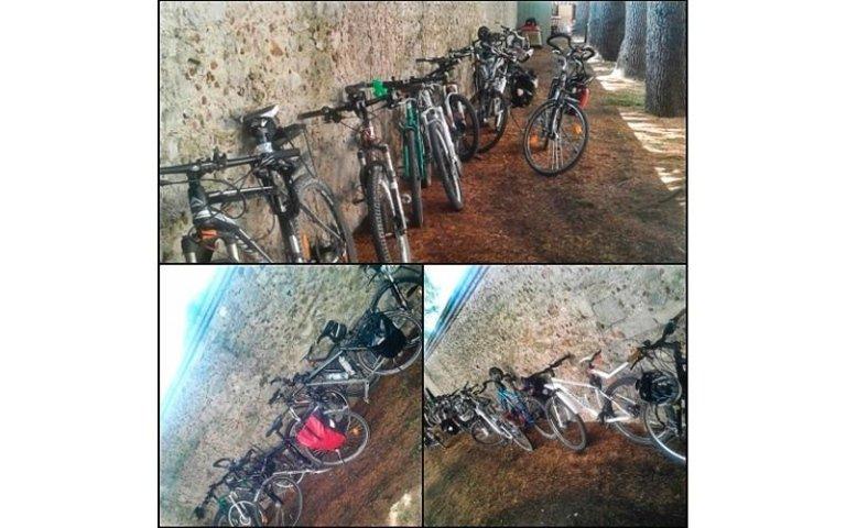 ciclo turismo in villa