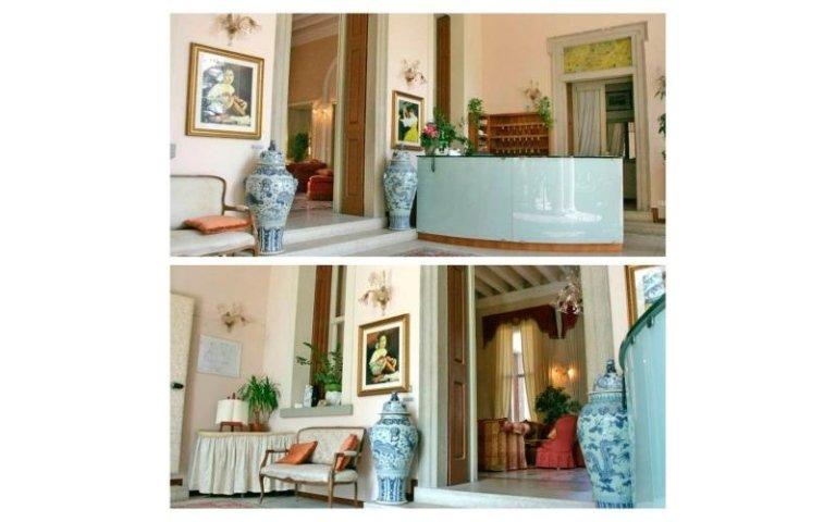 reception hotel villa soligo