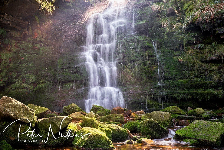Middle Clough Falls
