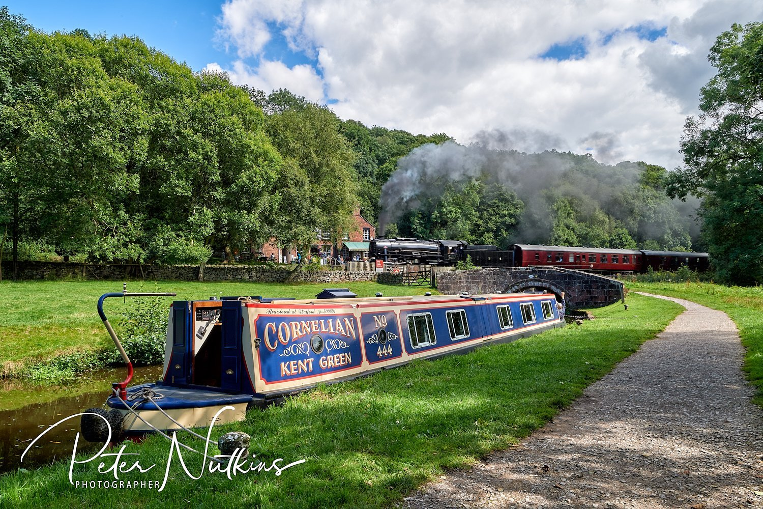 Consall Canal and Railway
