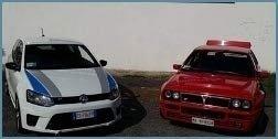noleggio auto rally