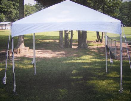10x10 foot tent