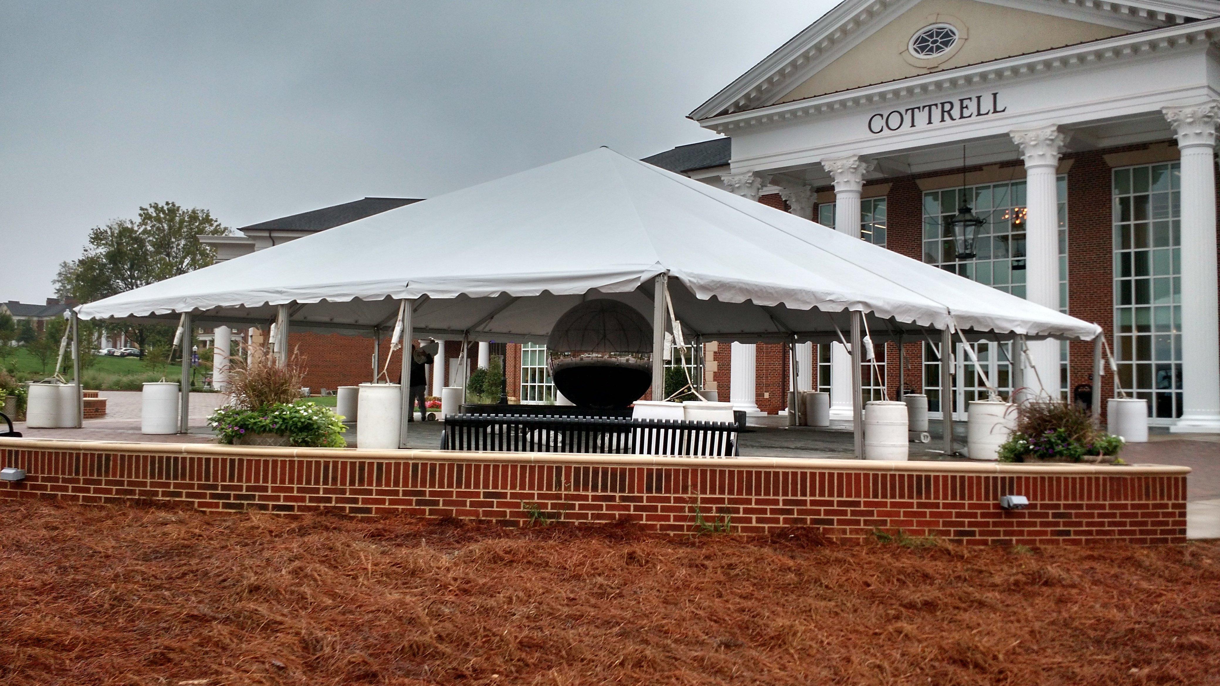 50x50 foot tent