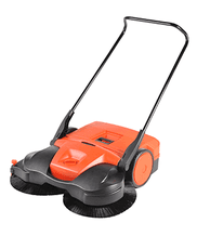 manual Haaga sweeper