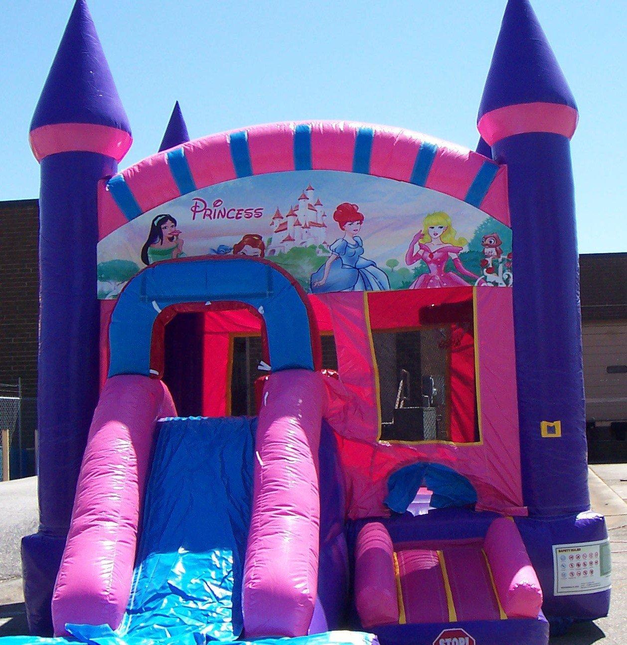 Princess Combo Bounce House