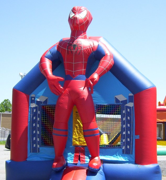 Spider Boy Bounce House