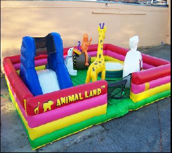 Animal Land Bounce