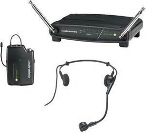 Audio Technica Wireless Head Set Microphone