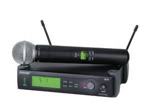 Sure Wireless Hand Held Microphone