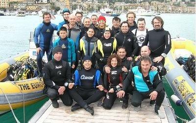 gruppo subacquea adulti