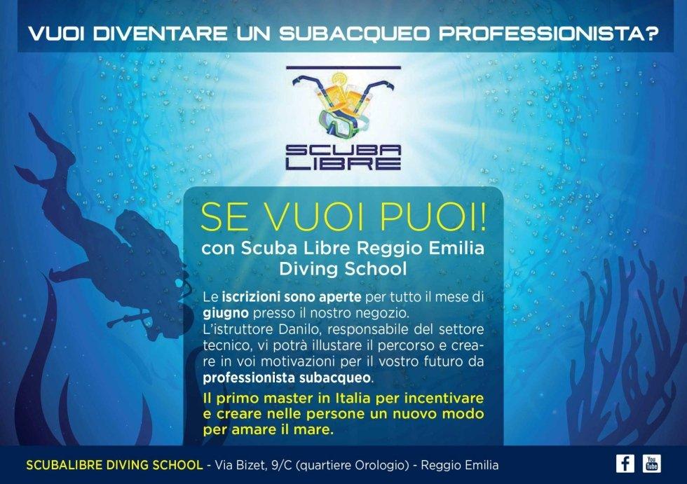 volantino master subacqueo professionista scubalibre re