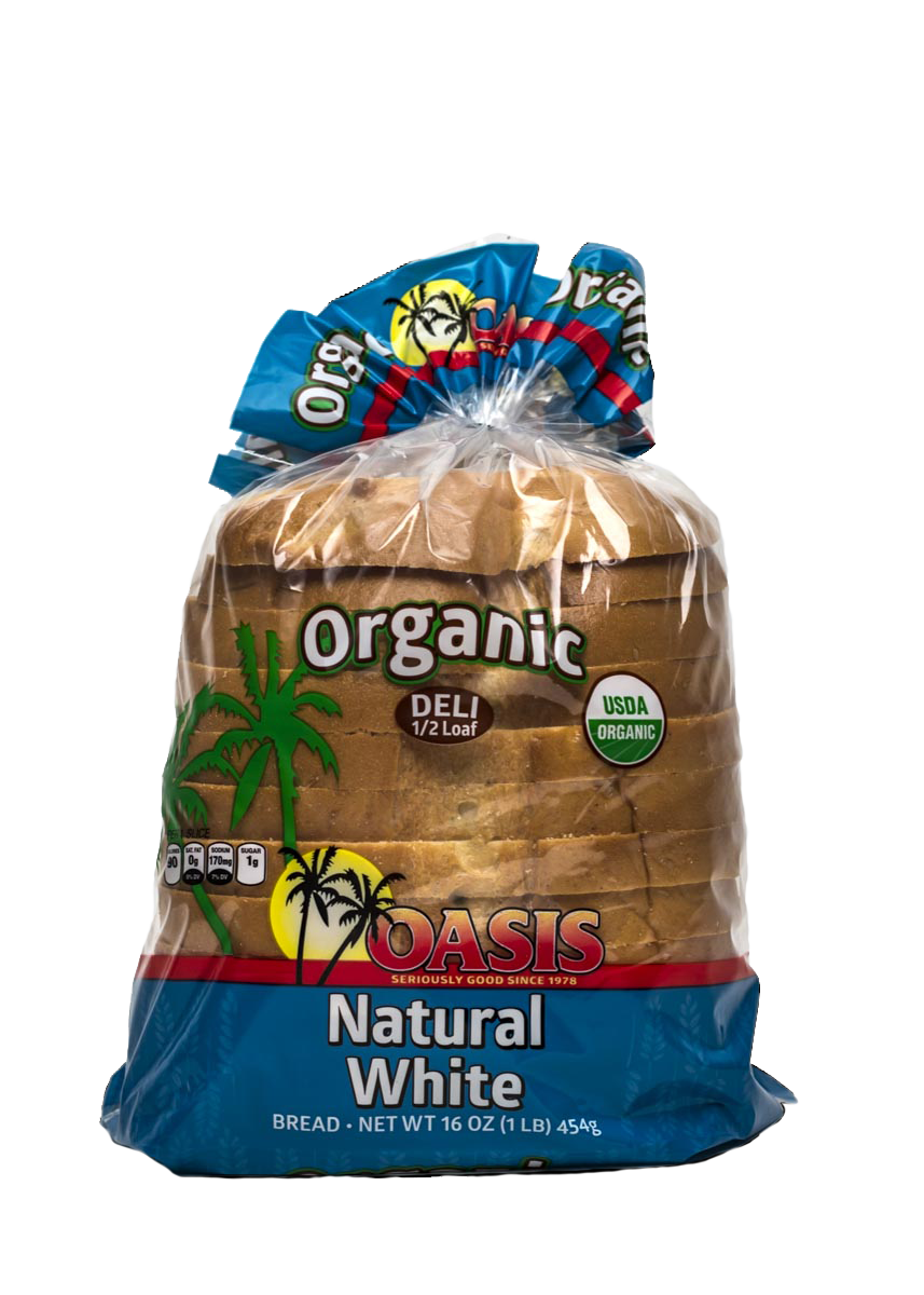 oasis natural white bread
