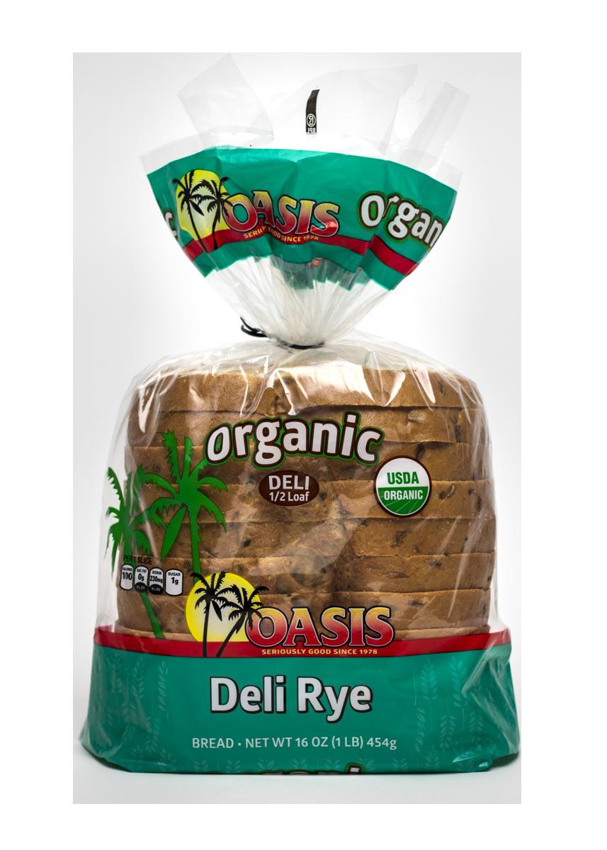 oasis deli rye bread