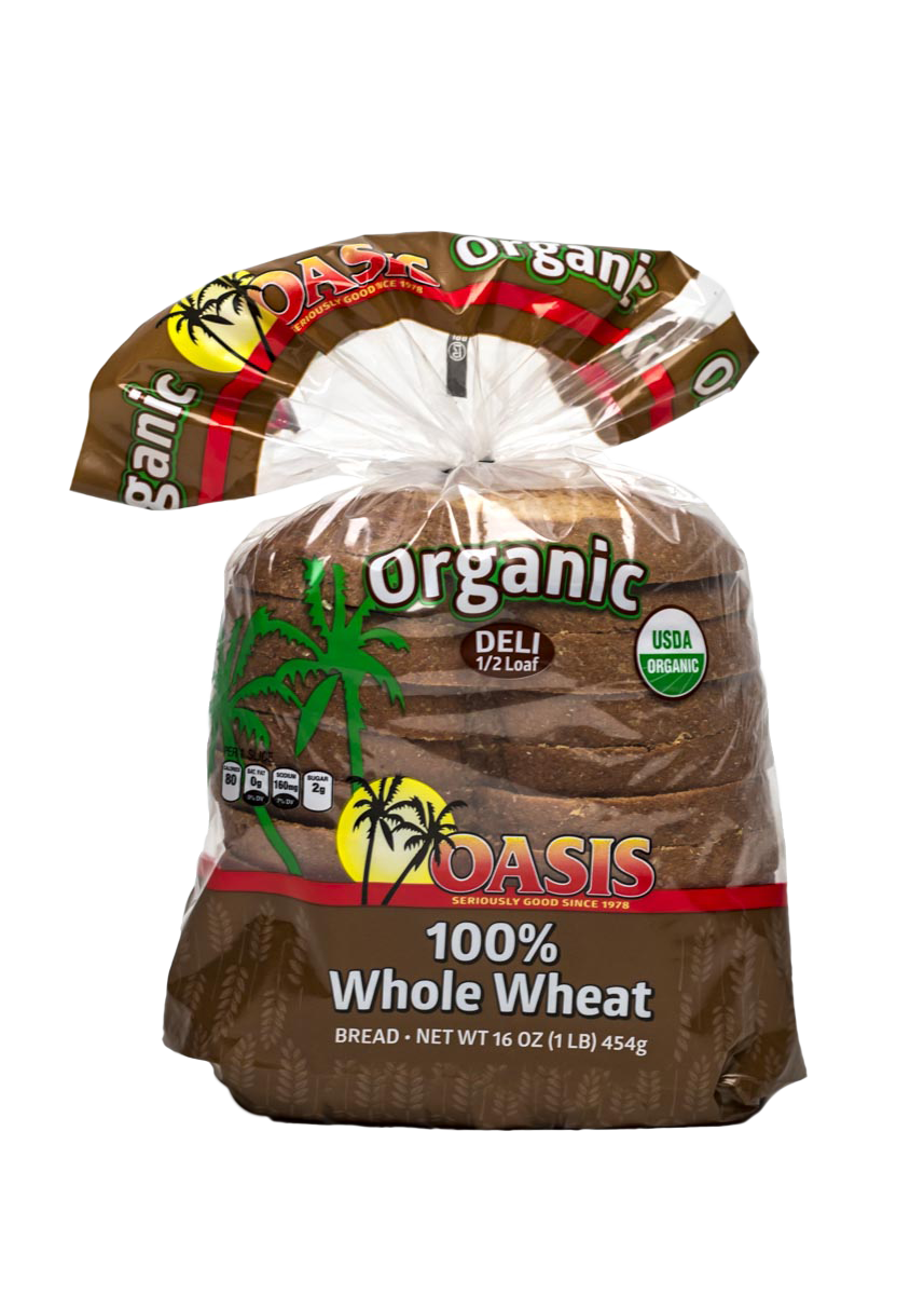 oasis whole wheat bread