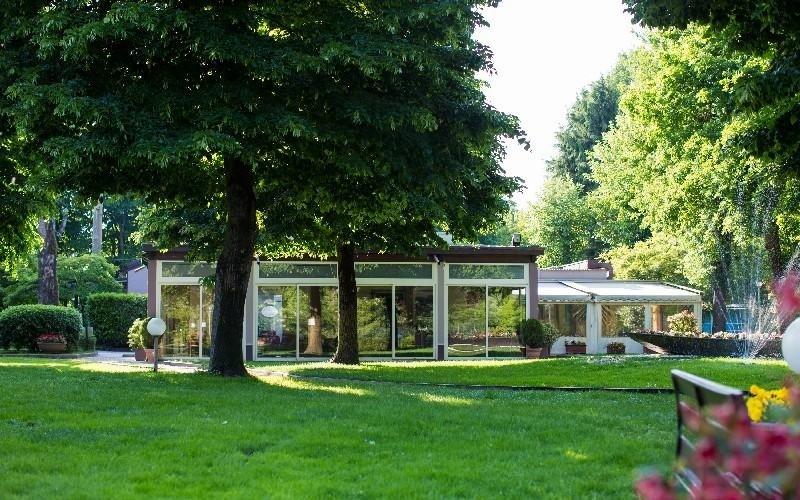 Vista giardino Ristorante La Darsena