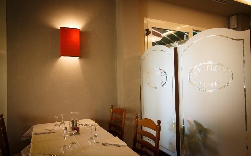 Sala interna Ristorante La Darsena