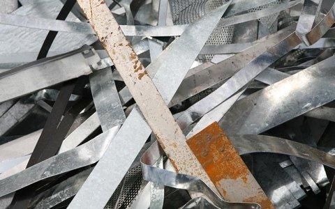 commercio rottami metallici