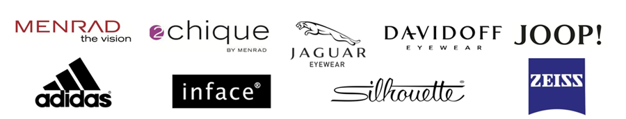 banner with company logos