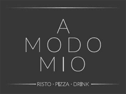 A MODO MIO - RISTO PIZZA DRINK - LOGO