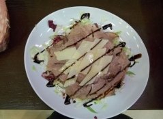 roastbeef, carne, carpaccio