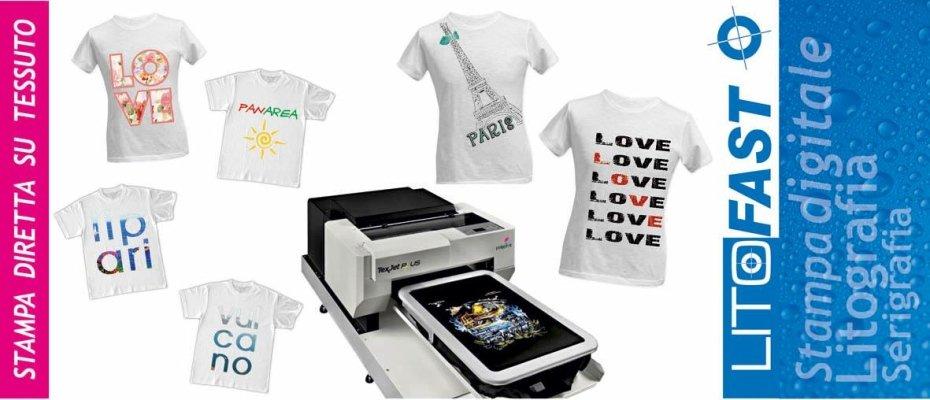 Magliette con stampe digitali