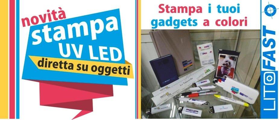 Gadget personalizzati a colori