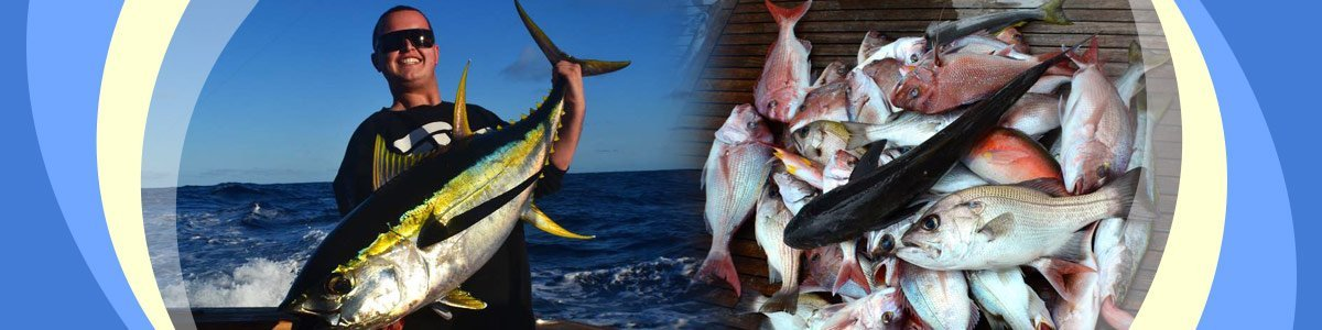 kaizen charters man with fish