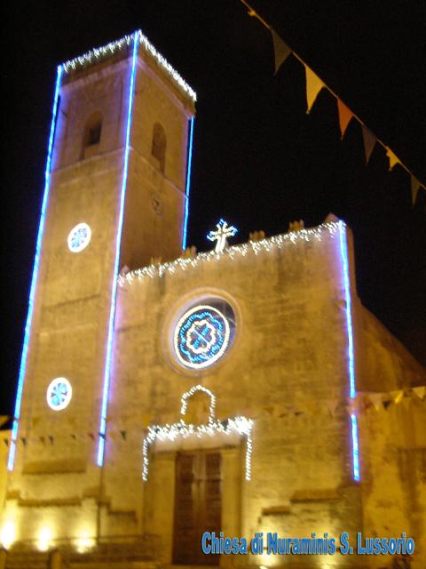 Illuminazione facciate e monumenti Cagliari Corsa Luci