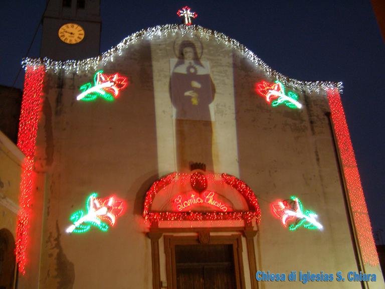 Illuminazione chiese e monumenti sardegna Corsa Luci
