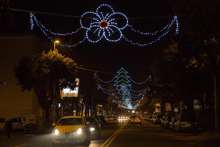 Luminarie per strade sardegna Corsa Luci
