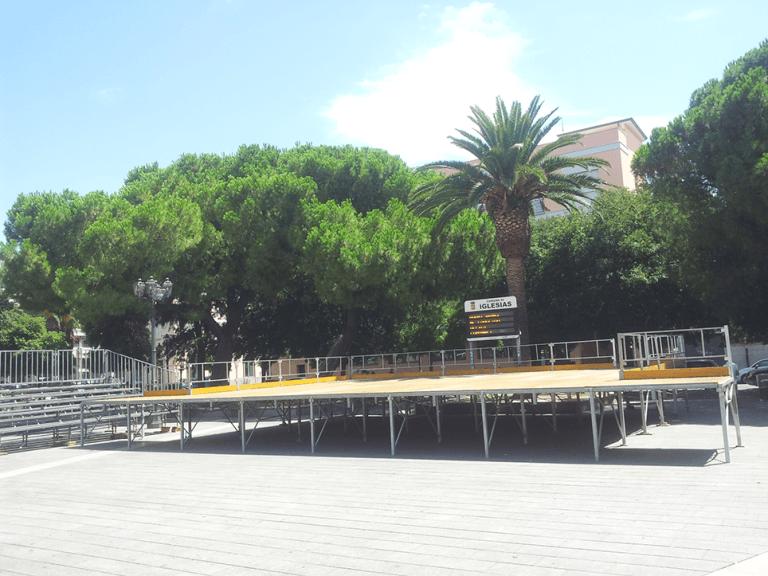 palchi per eventi Sardegna Corsa Luci