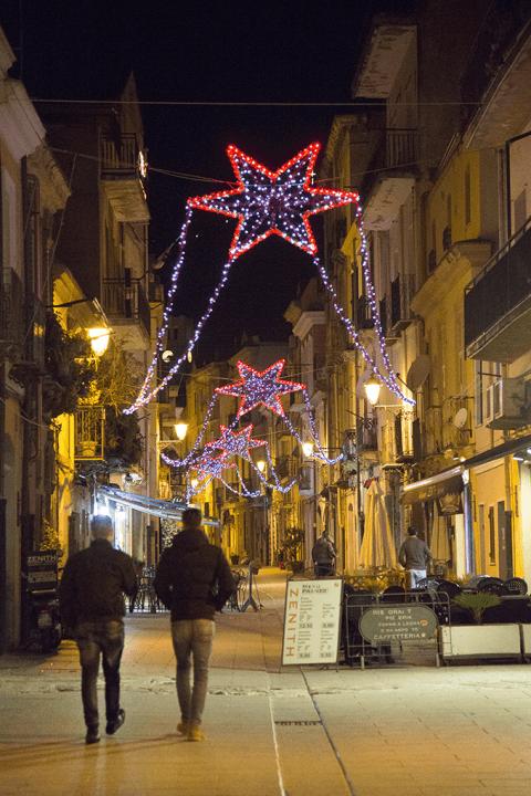 Luminarie per strade Cagliari Corsa Luci