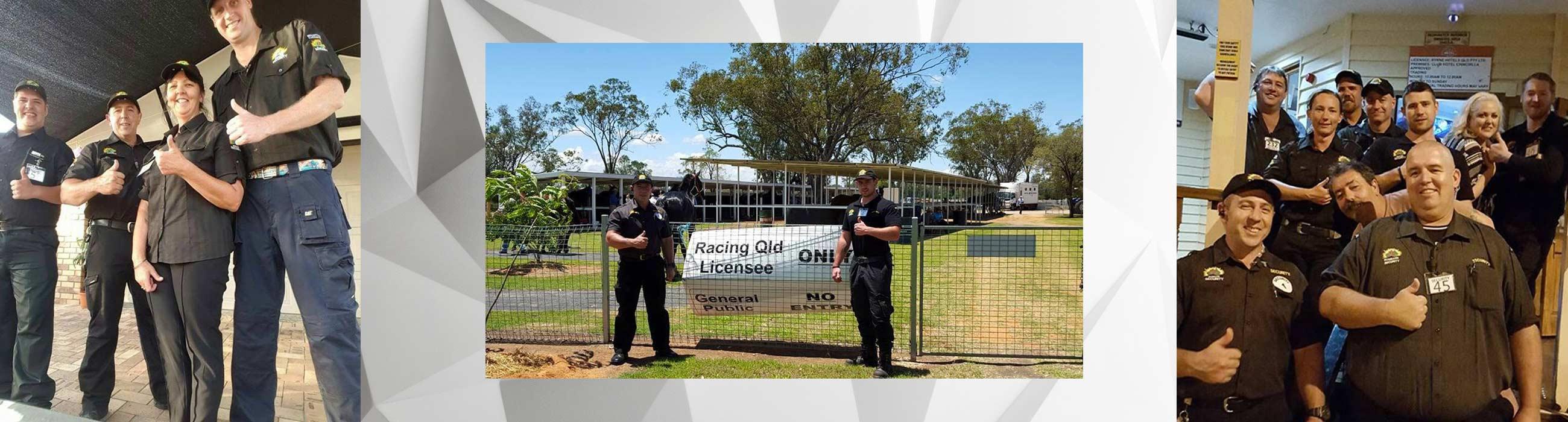 ironbark security service at queensland racing course