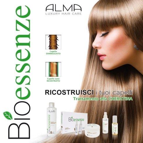 Ricostruisci i tuoi capelli - Trattamento alla Cheratina