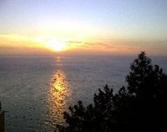 tramonto cinque terre