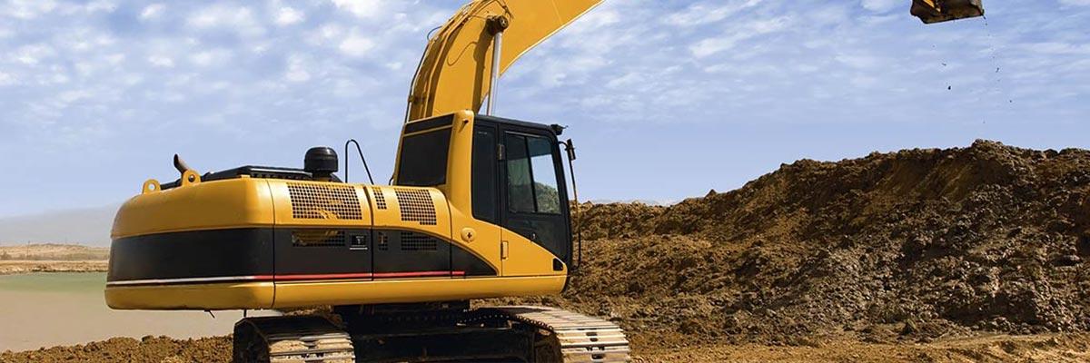bimline excavator sand