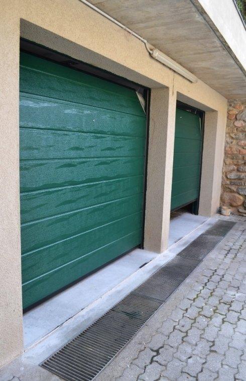 Porte per garage sezinali automatiche