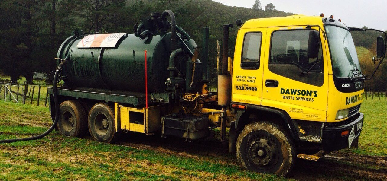 Septic tank cleaning and liquid waste Wellington