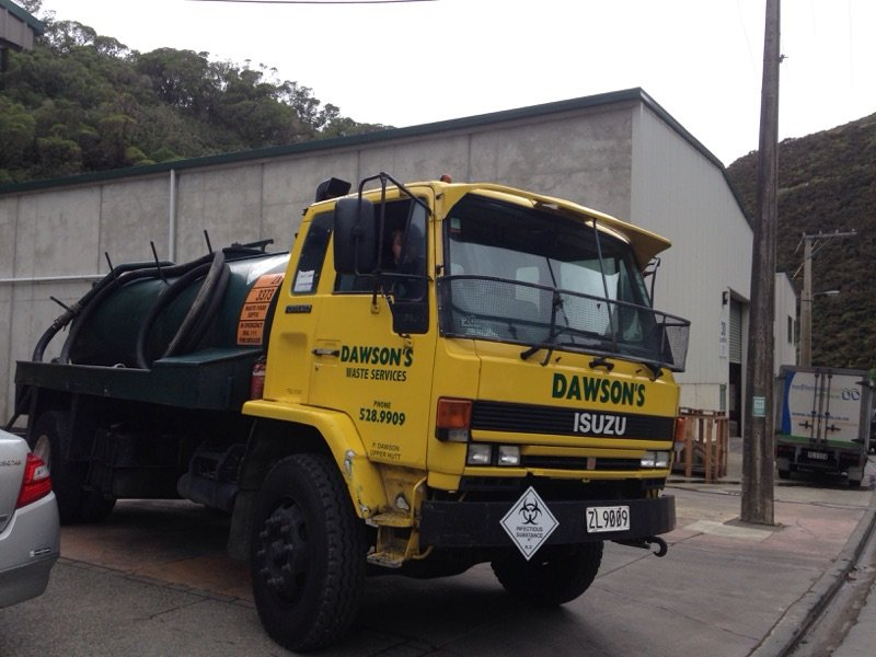 Liquid waste contractors in Wellington